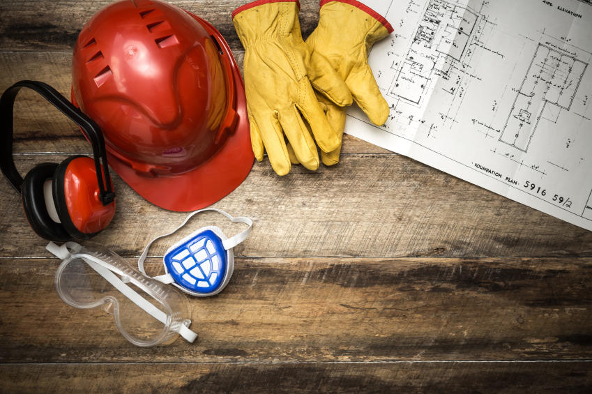 an image of ppe with a building plan