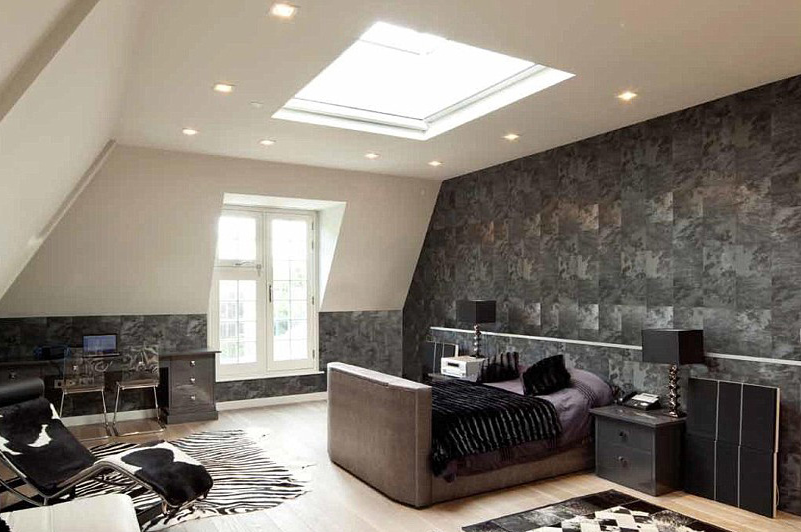 example of bedroom rooflight